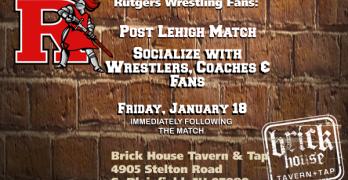 Post-Lehigh Social for Rutgers Wrestling Fans